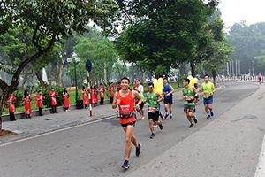Hơn 2500 VĐV tranh tài tại Giải Marathon quốc tế Di sản Hà Nội 2018