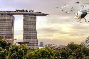 Thử nghiệm taxi bay đầu tiên thực hiện tại Singapore