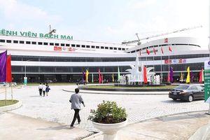 Khánh thành khu khám bệnh BV Bạch Mai và BV Hữu nghị Việt Đức cơ sở 2