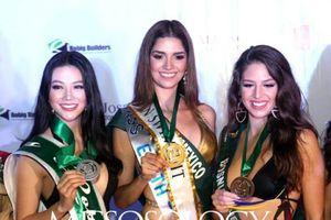Phương Khánh tiếp tục đạt huy chương trong phần thi bikini tại Miss Earth 2018