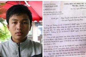Nam sinh nghèo đi làm công nhân tại Đà Nẵng sau cú sốc bị Học viện Hậu cần trả về