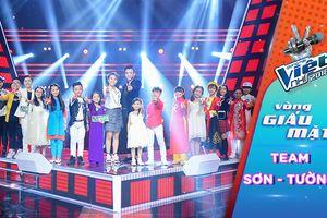 Nhìn ngắm lại 15 'chiến binh' đầy tiềm năng của đội Soobin Hoàng Sơn - Vũ Cát Tường chương trình The Voice Kids 2018