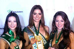 Màn thi bikini xuất sắc của Phương Khánh, Phương Nga tại đấu trường quốc tế