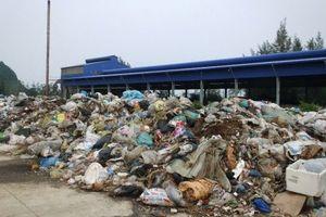 Thanh Hóa: Người dân khốn khổ vì nhà máy rác ngừng hoạt động