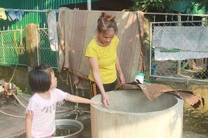 Hà Tĩnh: 'Khát' nước sạch ở khu tái định cư Hương Sơn