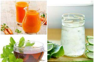 6 loại đồ uống giúp vòng eo thon gọn đến bất ngờ