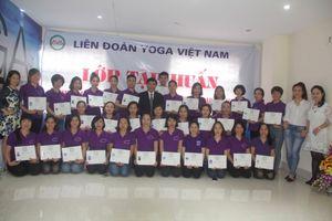 Kết thúc Lớp tập huấn HLV tại Friendship Yoga