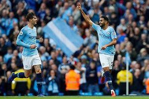 Thắng đậm Burnley, Man City giữ vững ngôi đầu Premier League