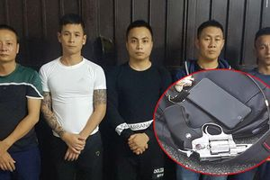 Khởi tố nhóm giang hồ dùng súng, hỗn chiến tranh giành địa bàn ở Hà Tĩnh