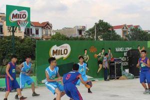 Khai mạc giải bóng đá, bóng rổ các câu lạc bộ tranh Cúp Milo 2018