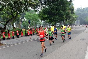 Hấp dẫn Giải Marathon quốc tế Di sản Hà Nội 2018