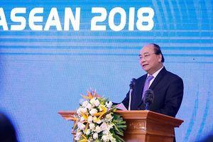 Thủ tướng Nguyễn Xuân Phúc dự, chỉ đạo Hội nghị tổng kết WEF ASEAN 2018