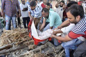 Thảm kịch đường sắt ở Ấn Độ, 59 người chết
