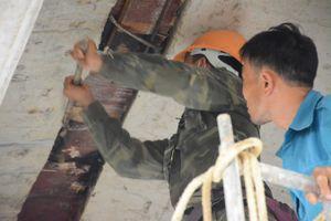 Khắc phục sự cố thấm nước trong hầm chui cao tốc Đà Nẵng - Quảng Ngãi