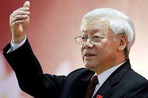 Uy tín của Đảng hội tụ ở Tổng Bí thư Nguyễn Phú Trọng