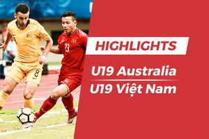 Highlights U19 Việt Nam 1-2 U19 Australia