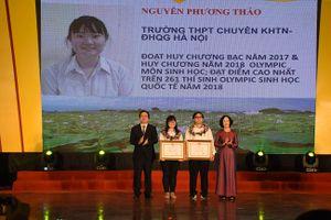 Cô gái 'vàng' của Olympic Việt Nam