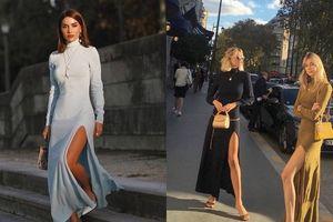 Kiểu váy 'gió lùa' sẽ hot nhất mùa đông này
