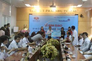 VietinBank trao tặng xe cứu thương chất lượng cao cho Bệnh viện K
