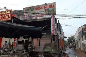 Cháy cửa hàng hoa, 2 cô gái chết thảm trong biển lửa