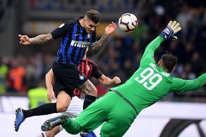 Icardi giúp Inter vượt qua AC Milan
