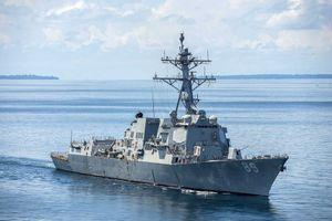 Mỹ điều 2 tàu chiến đi qua eo biển Đài Loan