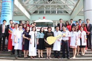 VietinBank tài trợ xe cứu thương chất lượng cao cho Bệnh viện K