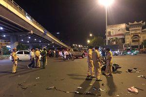 TP.HCM: Hiện trường vụ 'xe điên' BMW gây tai nạn kinh hoàng