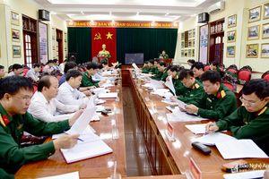 Quân khu 4 và tỉnh Nghệ An bàn giải quyết đất quốc phòng còn tranh chấp