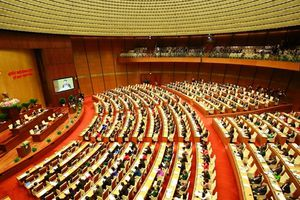 Kỳ họp 6 Quốc hội khóa 14 chính thức khai mạc