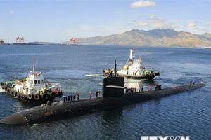 Trung Quốc lắp thiết bị giám sát dưới nước gần căn cứ tàu ngầm Mỹ