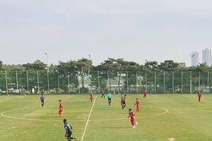 Đội tuyển Việt Nam thua Incheon ở trận giao hữu trên đất Hàn Quốc