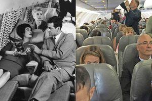 Dù hiện đại hơn nhưng đi máy bay ngày nay lại không sướng như mấy mươi năm trước