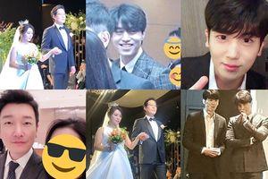 Park Hyung Sik, Lee Dong Wook cùng Jo Seung Woo và dàn sao 'Reply 1988' tại hôn lễ của Yoo Jae Myung
