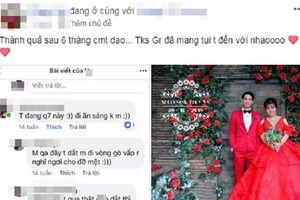 Cặp đôi nên duyên vợ chồng sau vài tháng bình luận 'dạo' trên mạng xã hội
