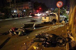 Từ đầu năm, 4 vụ 'xe điên' tông xe máy chờ đèn đỏ, nhiều người thương vong
