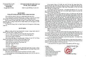 Nghệ An: Cưỡng chế thi hành Quyết định xử phạt vi phạm hành chính hai doanh nghiệp