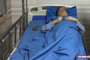 Bệnh nhân bị vỡ ruột thừa khiến phân tràn đầy khoang bụng, nhiễm trùng nặng