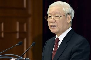 Tổng bí thư Nguyễn Phú Trọng được giới thiệu để Quốc hội bầu làm Chủ tịch nước
