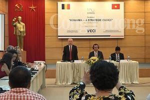 Cơ hội 'vàng' thúc đẩy hợp tác kinh tế Việt Nam - Romania