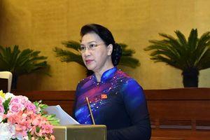 Kỳ họp thứ Sáu- kỳ họp giữa nhiệm kỳ, Quốc hội xem xét, quyết định nhiều nội dung quan trọng