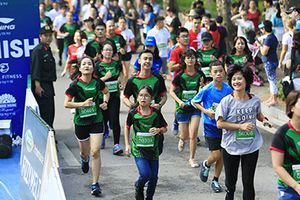 Giải chạy quốc tế đầu tiên kết nối 3 di sản Hồ Gươm, Hồng Hà, Hồ Tây