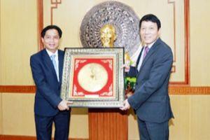 Đẩy mạnh quan hệ hợp tác giữa Văn phòng Bộ Công an Việt Nam và Văn phòng Bộ An ninh Lào
