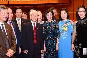 Tổng Bí thư Nguyễn Phú Trọng được giới thiệu để Quốc hội bầu giữ chức Chủ tịch nước