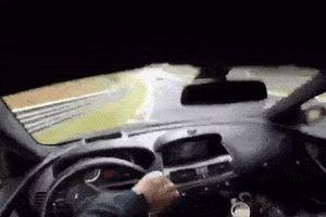 Video BMW M6 mất lái ở vận tốc 200 km/h