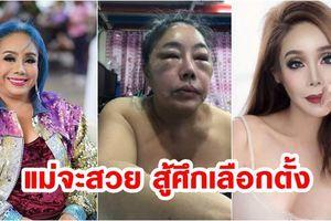 Nữ đại gia 14 đời chồng phẫu thuật thẩm mỹ để tranh chức Thủ tướng Thái Lan