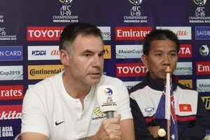 HLV U19 Australia: 'U19 Việt Nam có tinh thần thi đấu mạnh mẽ'