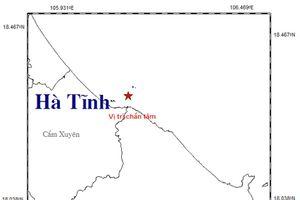 Lại động đất ở Hà Tĩnh gây nổ và rung lắc khiến người dân hoảng sợ