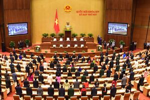 Hình ảnh lễ khai mạc Kỳ họp thứ sáu, Quốc hội khóa XIV