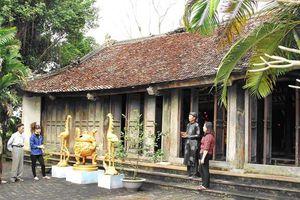 Tu bổ, tôn tạo di tích đền Lăng, tỉnh Hà Nam